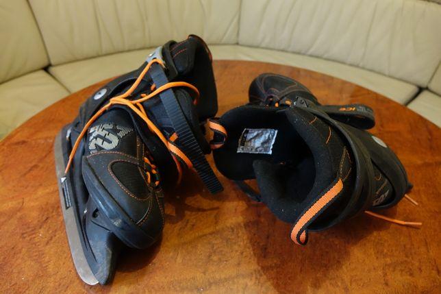 Коньки K2 почти новые:)