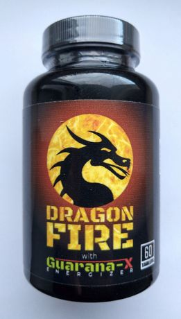 Dragon Fire - fat burner spalacz energia - suplement diety - hit z UK