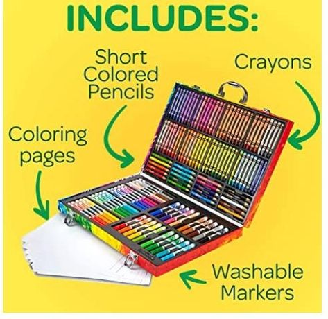 Crayola чемодан, набор для творчества