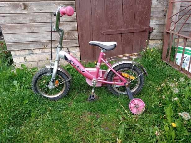 Rower rowerek 12 cali dla dziewczynki