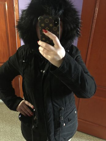 Курта женская черная, деми . Размер 48