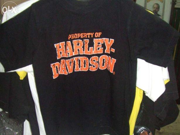 Tshirt harley davidson criança