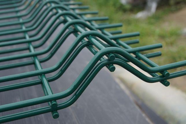 Panele ogrodzeniowe 153 cm / 4 mm Ocynk+malowane proszkowo chełst
