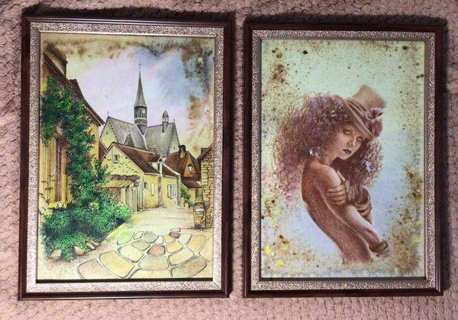 Продам вышивку и картины в рамках ручной работы