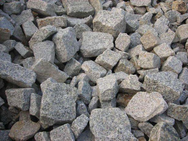 Łupek granitowy kamień do gabionu granit kostka granitowa odpad grys