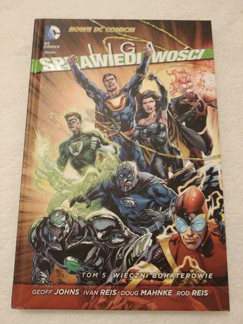 Liga Sprawiedliwości. Wieczni Bohaterowie (Nowe DC Comics)