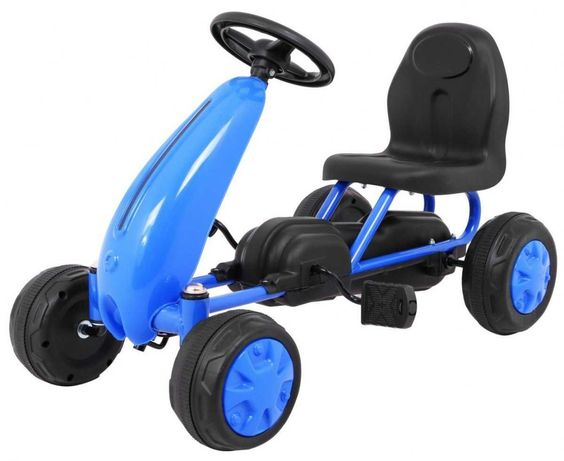 mały Gokart dla Najmłodszych dzieci Niebieski