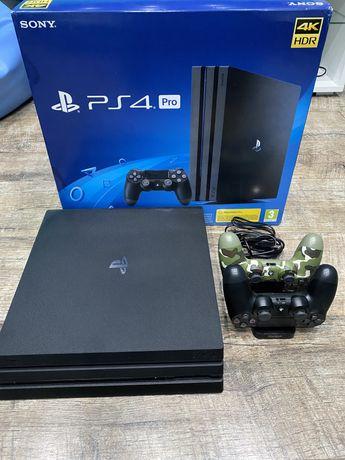 Playstation 4 Pro 1TB 2 Pady Stacja Dokująca 22 Gry Gwarancja 21msc!
