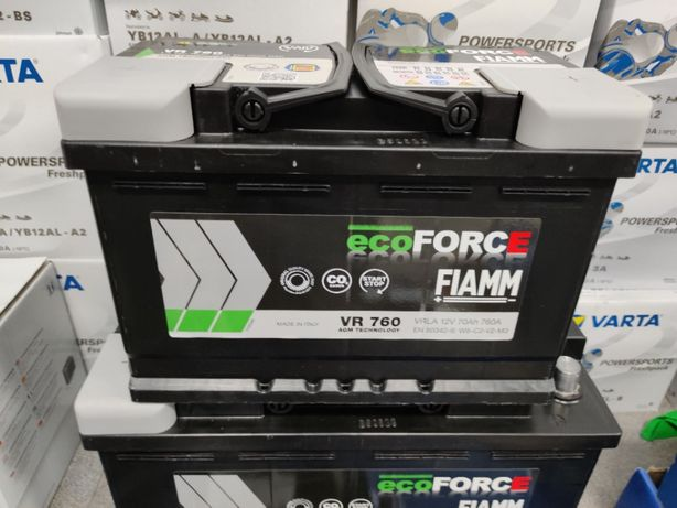 Akumulator Fiamm ECOFORCE AGM VR760 12V 70Ah 760A P+ Kraków