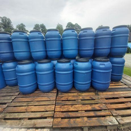 Beczka beczki 220 litrow wode kapuste zacier deszczowke oczko filtr