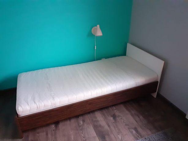 Łóżko młodzieżowe Black Red White z materacem Master Medicot