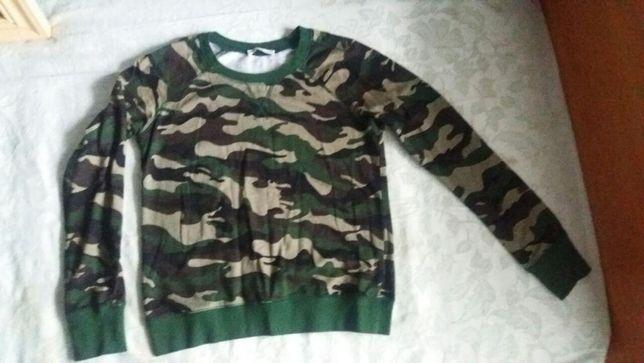 Свитшот свитер милитари хаки камуфляж