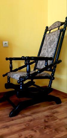 krzesło bujanie antyczne