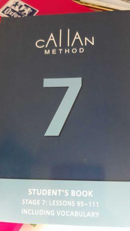 Callan Method - Stage 7