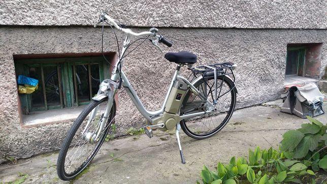 Gazelle Easy Glider elektryczny (e-bike ) aluminiowy damski koła 28`