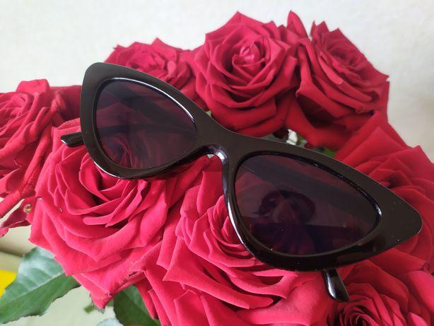 Женские солнцезащитные очки. Кошачий глаз