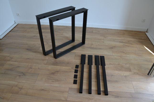 Konstrukcja do stołu rozkładanego stół z dostawkami nogi metalowe LOFT