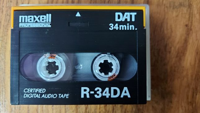 Kaseta DAT MAXELL R-34 DA, idealna