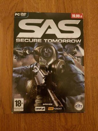 Gra komputerowa SAS Secure tomorrow (PC, DVD), od 18 lat