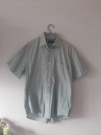 Koszula na krótkim rękawie w paski M