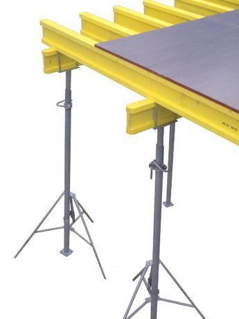 Zestaw Szalunki stropowe 100m2 dźwigary podpory głowice sklejki