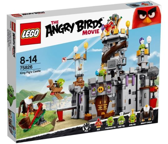 Lego Angry Birds Замок Короля свинок 75826