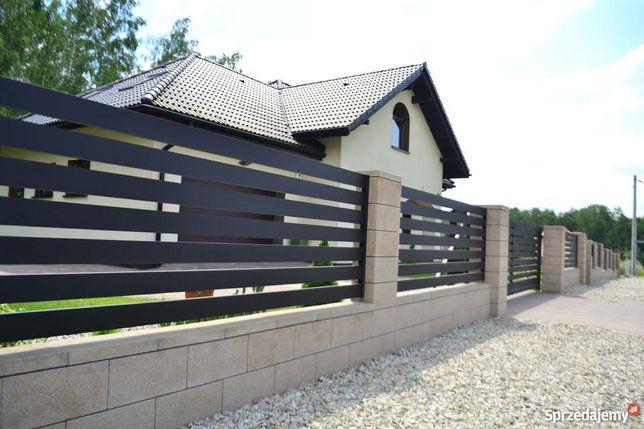 Nowoczesne ogrodzenia, Balustrady, Stal, aluminium. Nierdzewka, Gararz