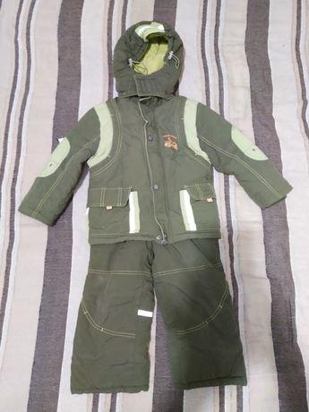 Зимний костюм, комбинезон, куртка для мальчика 104 рост