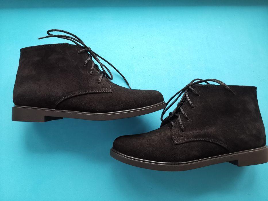 Женские ботиночки деми. Натуральная замша Чернигов - изображение 1