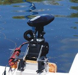 silnik elektryczny do łodzi sterowany pilotem