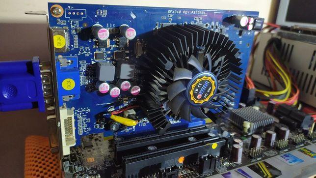 Видеокарта Geforce GT240 1gb GDDR3 памяти