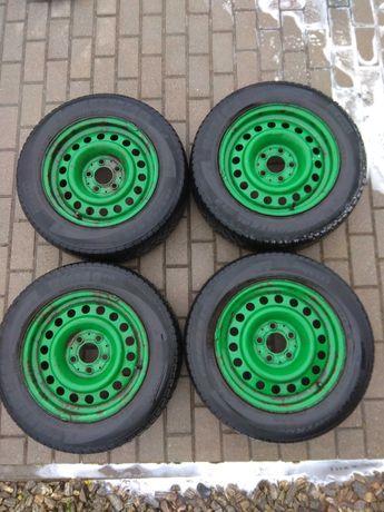 Koła zimowe felgi 5x112 stalowe + opony 195/65 R15 Pirelli
