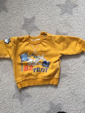 Bluza dziecieca musztardowa 62-68