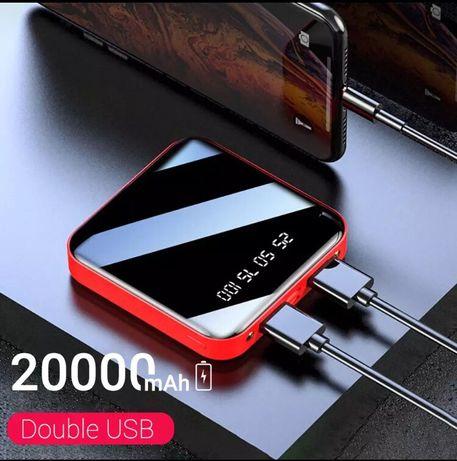 Mini powerbank portátil de 20000mah