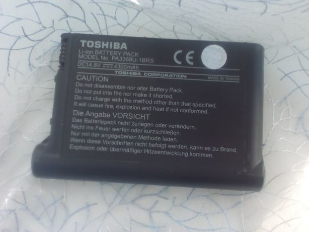 АКБ Toshiba PA3369U-1BRS (аккумулятор) до ноутбуків Satellite M18 M19