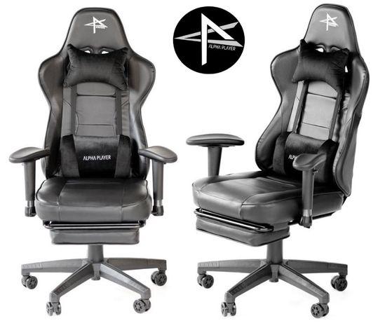 Krzesło dla gracza fotel komputerowy gamingowy Alpha Player Diablo