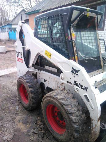 Продам мини погрузщик bobcat s175