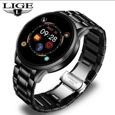 Smartwach zegarek męski LIGE