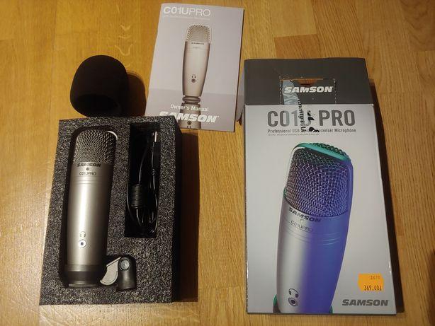 Samson C01U pro mikrofon usb podcast wokal
