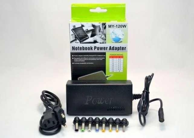 Универсальная зарядка 120W зарядное устройство для ноутбука