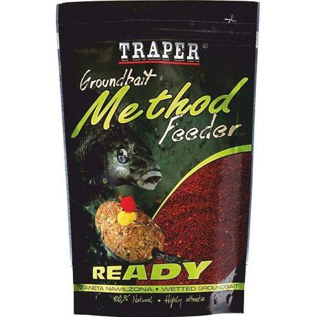 Mokra Zanęta Traper Method FEEDER READY MIÓD - 750 g