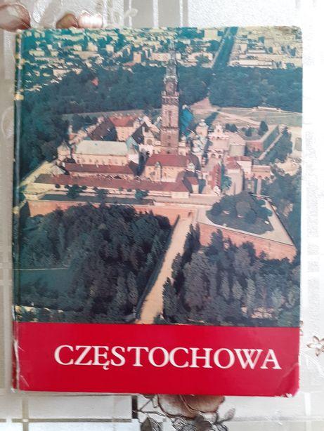 Książka historyczna pt.Czestochowa