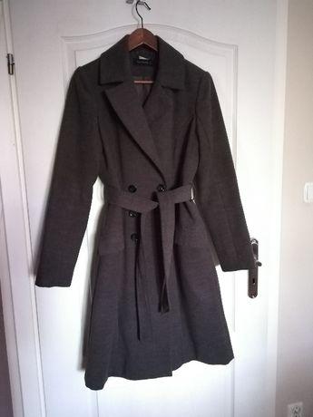 Szary wiosenno/jesienny płaszcz Reserved roz. 40