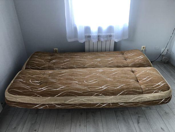 Łóżko/sofa/kanapa brązowa ŚWIETNA OKAZJA!!!