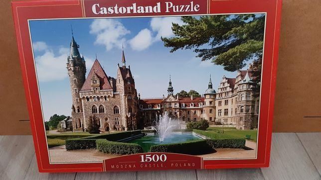 Puzzle 1500 el. z antyramą