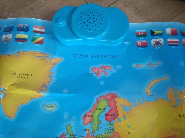 Interaktywna mapa świata Dumel Discovery