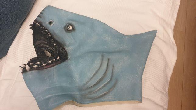 Maska na halloween, przebieraną imprezę lub pool party- rekin