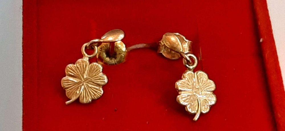 Kolczyki złote 14 k /585/ 1,60 g --- Lombard Madej Gorlice ---