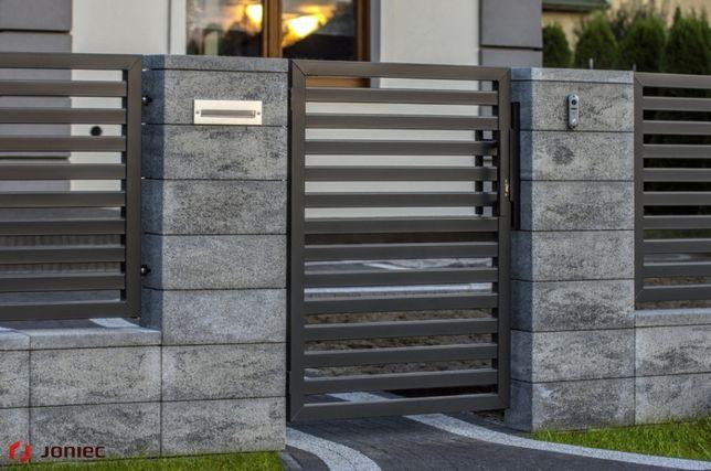 OGRODZENIE MODUŁOWE ROMA betonowe JONIEC bloczek słupkowy modułowy