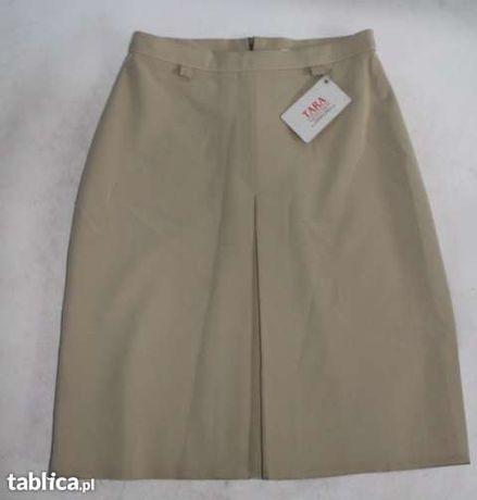 Spódniczka spódnica kontrafałda roz 36 S pas 62 cm